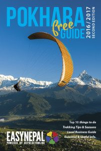 Cover POKHARA GUIDE 2016